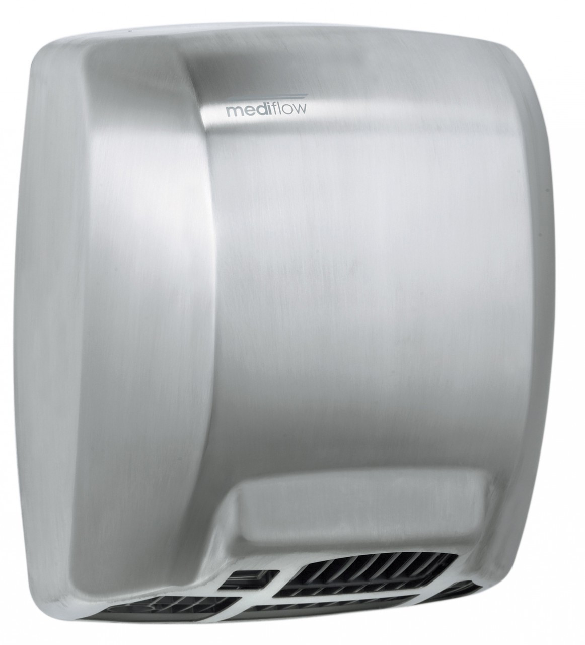 mediflow series m03acs automatic stainless steel satin hand dryer from saniflow basic warm air - Air Hand Dryers
