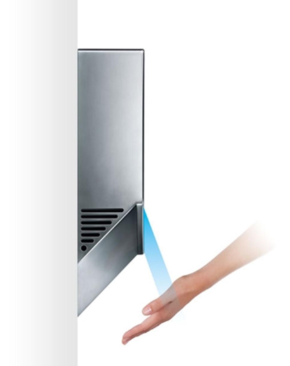 dyson airblade hu02 dyson ab12 nickel slim hand dryer v. Black Bedroom Furniture Sets. Home Design Ideas