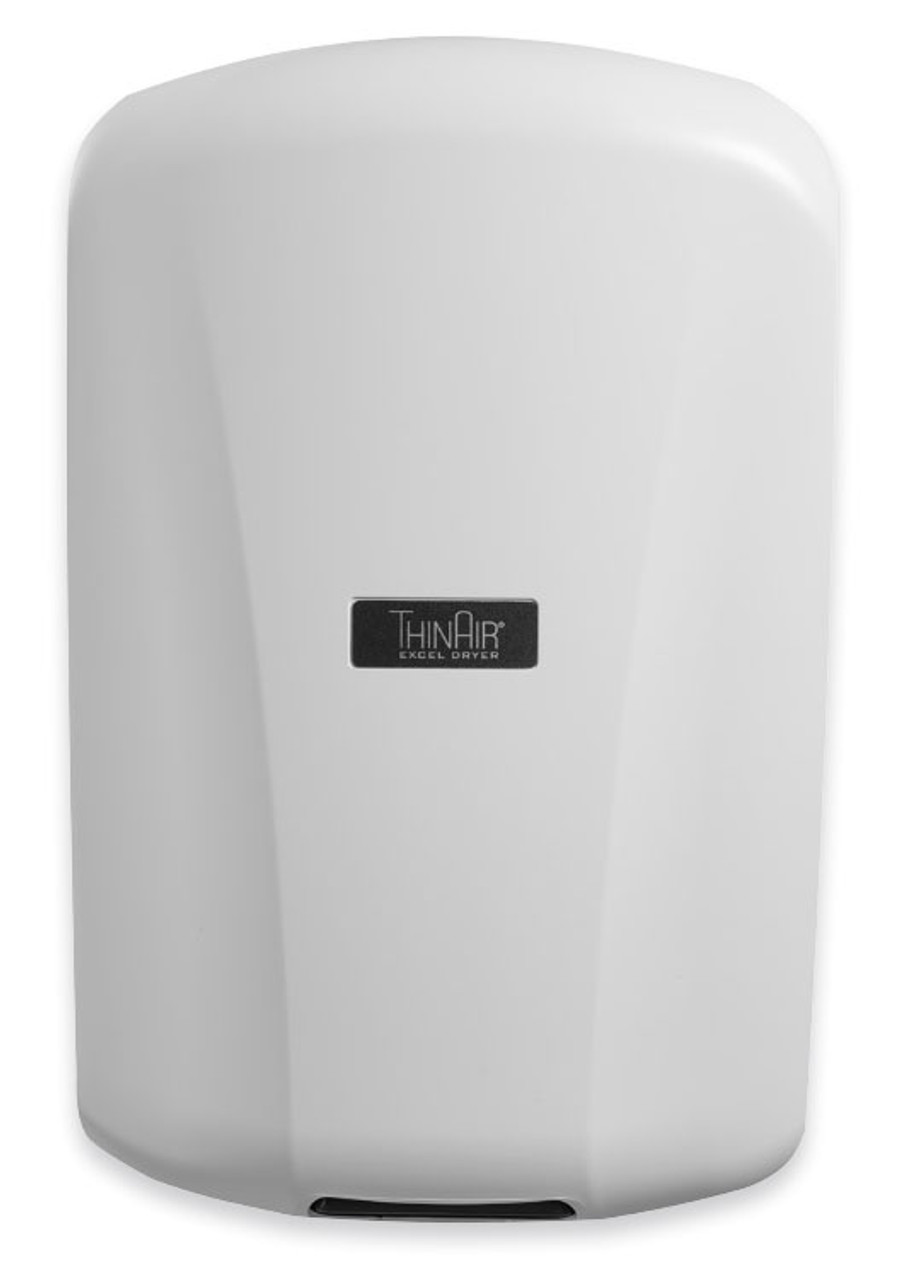new excel thinair ta abs white hand dryer - Air Hand Dryers