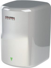 Satin HD-617-210 Surface Mount Hand Dryer from Columbia Vortex