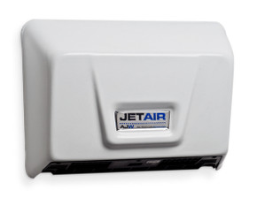 JetAir U1511EA White Hand Dryer from AJW
