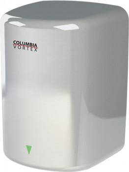 Satin HD-617-210 Surface Mount Hand Dryer from Columbia Vortex