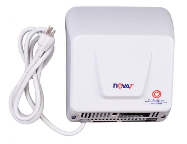 World Dryer Nova 1 Plug-in Aluminum White commercial hand dryer