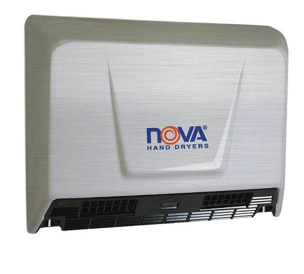 World Dryer Nova 2 Stainless Steel Brushed commercial hand dryer
