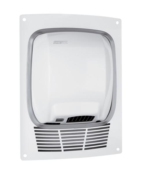 MEDIFLOW Series KT0010B Steel White Recss Kit for Mediflow Hand Dryer from Saniflow