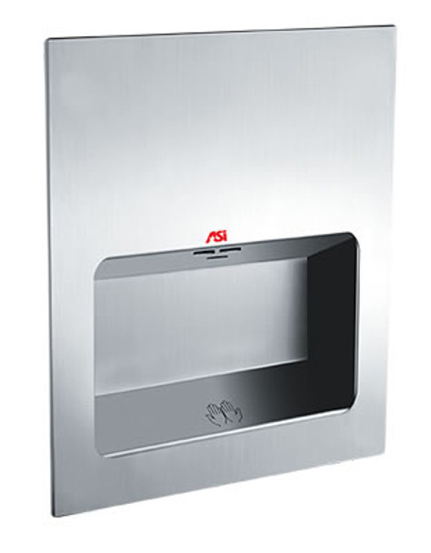 Turbo Tuff 0135 hand dryer in satin stainless steel ADA by ASI comes in 110-120v, 220-240v, and 277v.