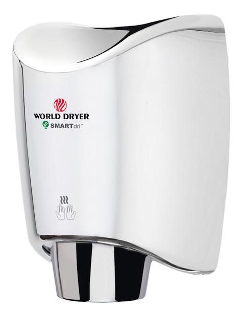 World Dryer SMARTdri K-972 Stainless Steel Polished fast hand dryer