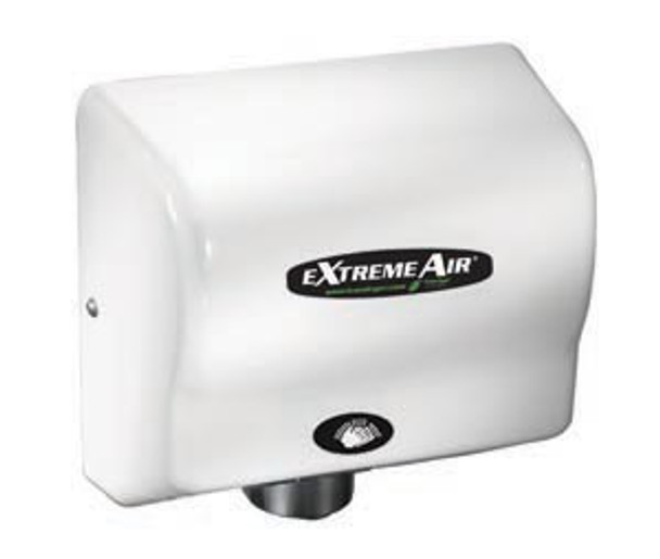 American Dryer eXtremeAir GXT9 ABS White commercial hand dryer