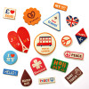 Travel Leather Stickers