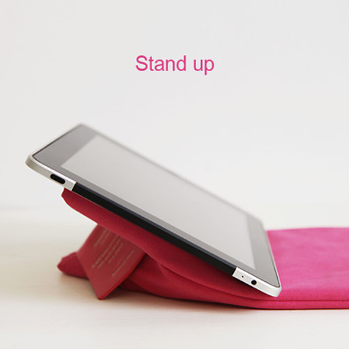 Stand pouch for iPad