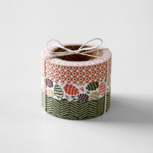 Fabric Tape Set- Pine