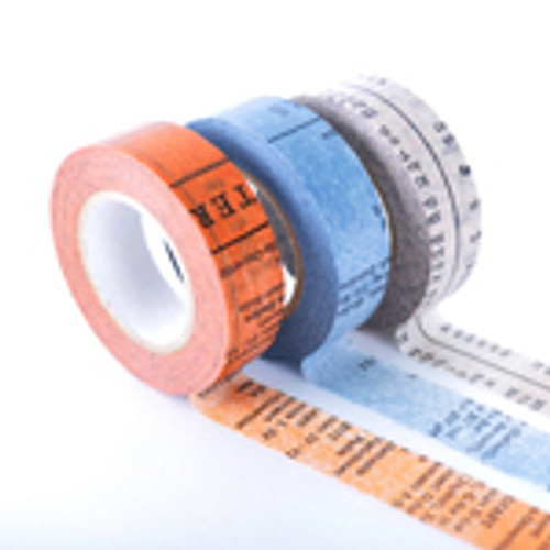 Classiky Masking Tape-Old Books