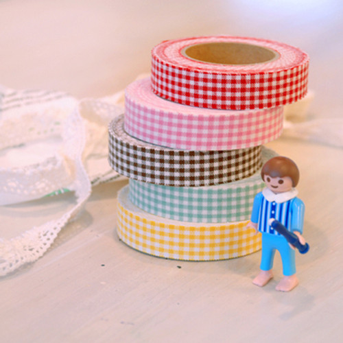 Fabric tape-Gingham Check