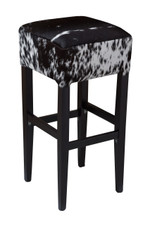 Black and White Speckled Bentley Bar Stool