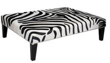 4ft x 3ft Cowhide Footstool FST959