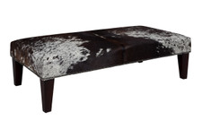 4ft x 2ft Cowhide Footstool FST938