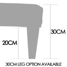 4ft x 3ft Cowhide Footstool FST750