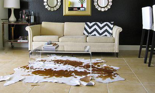 Use An Animal Skin Rug to Add Luxury & Style