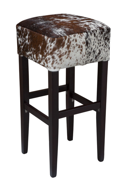 Dark Brown and White Bentley Bar Stool