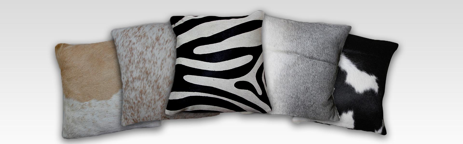 Cowhide Cushions