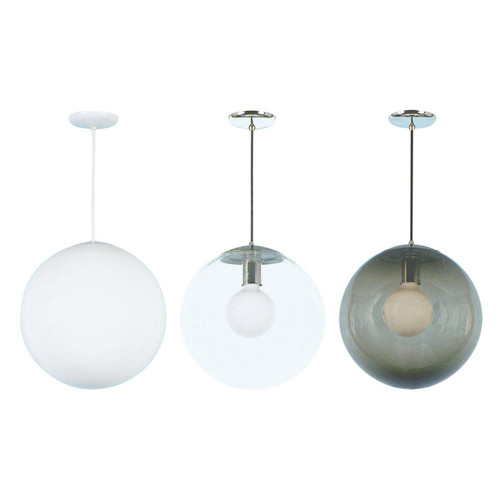 globe pendant color options (fixture shown is 12 inch globe pendant)