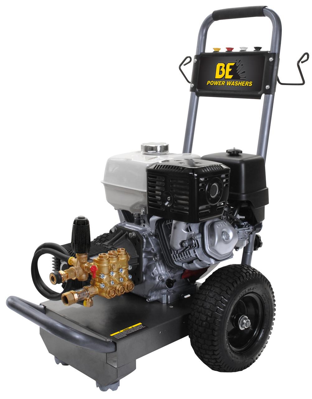 B4013 HCS Pressure Washer. 4000 PSI, 4 GPM Honda Engine And Comet Pump.