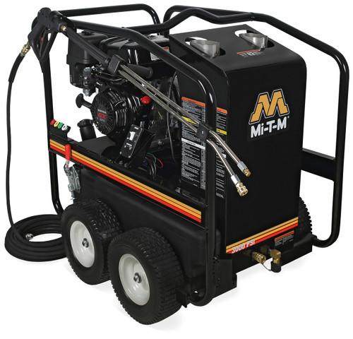 Mi-T-M HSP Hot Water Pressure Washer, 3000 PSI, 2.9 GPM, HSP-3003-3MGH