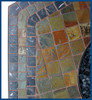 Blue Rhino Uniflame LP Propane Gas Fire Pit Table With Hexagon Slate Tile Mantel 1