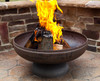 """Ohio Flame Patriot 24"""" Diameter Fire Pit Natural Steel 2"""