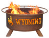 Patina Products - University of Wyoming College Fire Pit - F236 6
