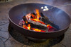 "Ohio Flame Patriot 42"" Diameter Fire Pit Natural Steel - OF42FPNSF 2"