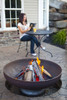"Ohio Flame Patriot 42"" Diameter Fire Pit Natural Steel - OF42FPNSF 4"