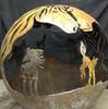 Fireball Fire Pits - Horse - 37.5 inch Fire Globe 3