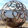 Fireball Fire Pits - Waves - 37.5 inch Fire Globe 3