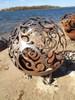 Fireball Fire Pits - Waves - 37.5 inch Fire Globe 5