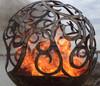 Fireball Fire Pits - Waves - 37.5 inch Fire Globe 2