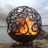 Fireball Fire Pits - Waves - 37.5 inch Fire Globe 6