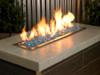 1/4 inch Pacific Blue Classic Fire Glass 3