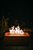 Fire Pit Art Linear 48 inch 150K Natural Gas or Propane Fire Pit 6