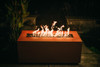 Fire Pit Art Linear 48 inch 150K Natural Gas or Propane Fire Pit