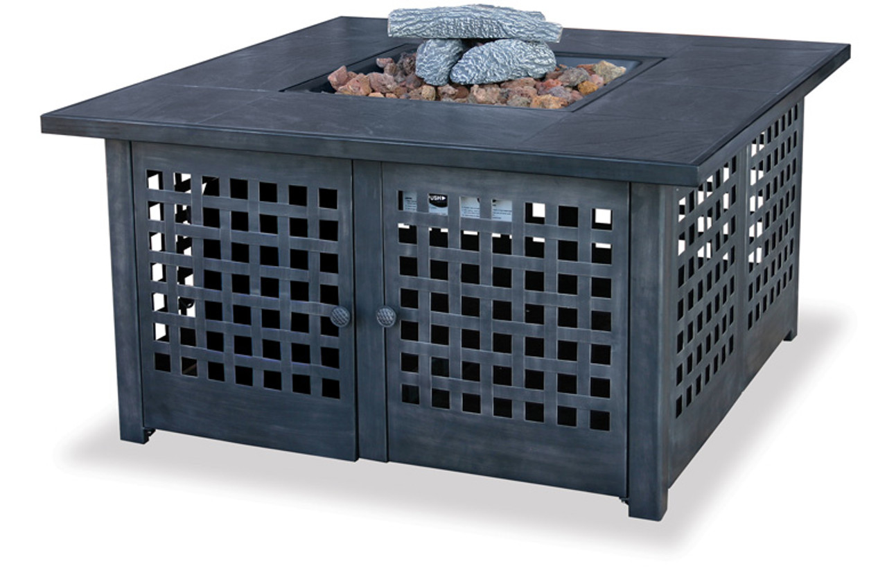 Blue Rhino Uniflame Lp Propane Gas Fire Pit With Tile