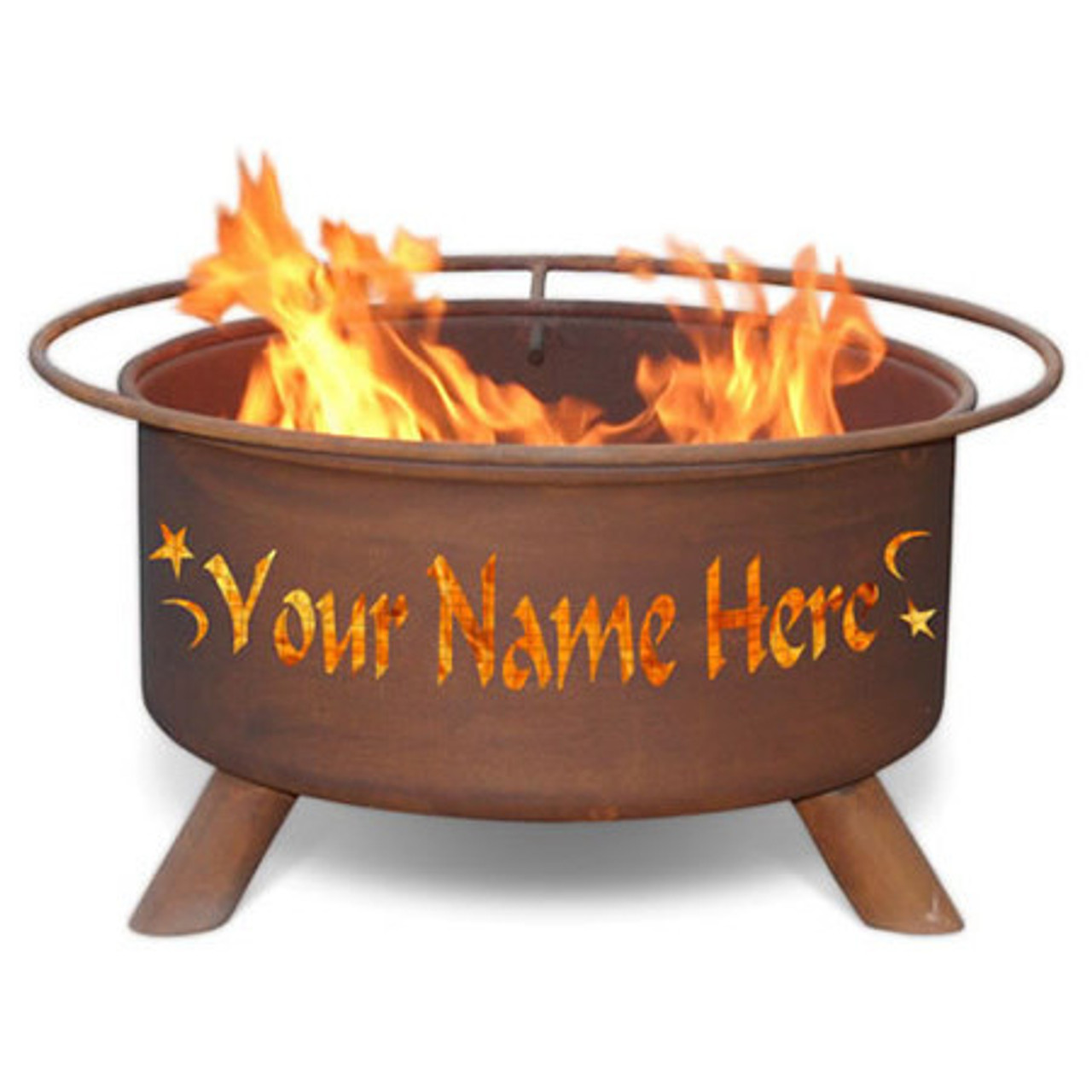 Personalized Custom Fire Pit -F199 - Personalized Custom Fire Pit -F199 - The Fire Pit Store