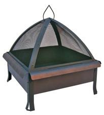 Landmann Tudor Fire pit with Cover Bronze