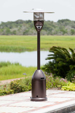Fire Sense Well Traveled Living Hammer Tone Bronze Deluxe Patio Heater
