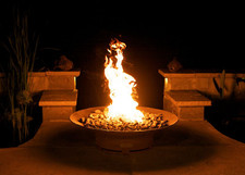 "Fire Pit Art Asia 36"" Natural Gas or Propane Fire Pit 2"