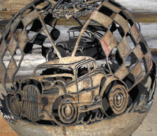 Fireball Fire Pits - Hot Rod - 37.5 inch Fire Globe