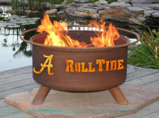 Patina Products - F410 – Alabama Crimson Tide Fire Pit
