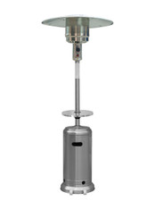 "TFPS Patio Heaters 87'"" Stainless Steel Patio Heater with Table - TFPS-HLDS01-BST"