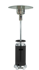 "TFPS Patio Heaters 87"" Two Tone Outdoor Patio Heater with Table Black & Stainless Steel - HLDS01-SSBLT  3"