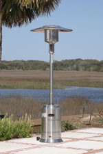 Fire Sense Well Traveled Living Stainless Steel Commercial Patio Heater